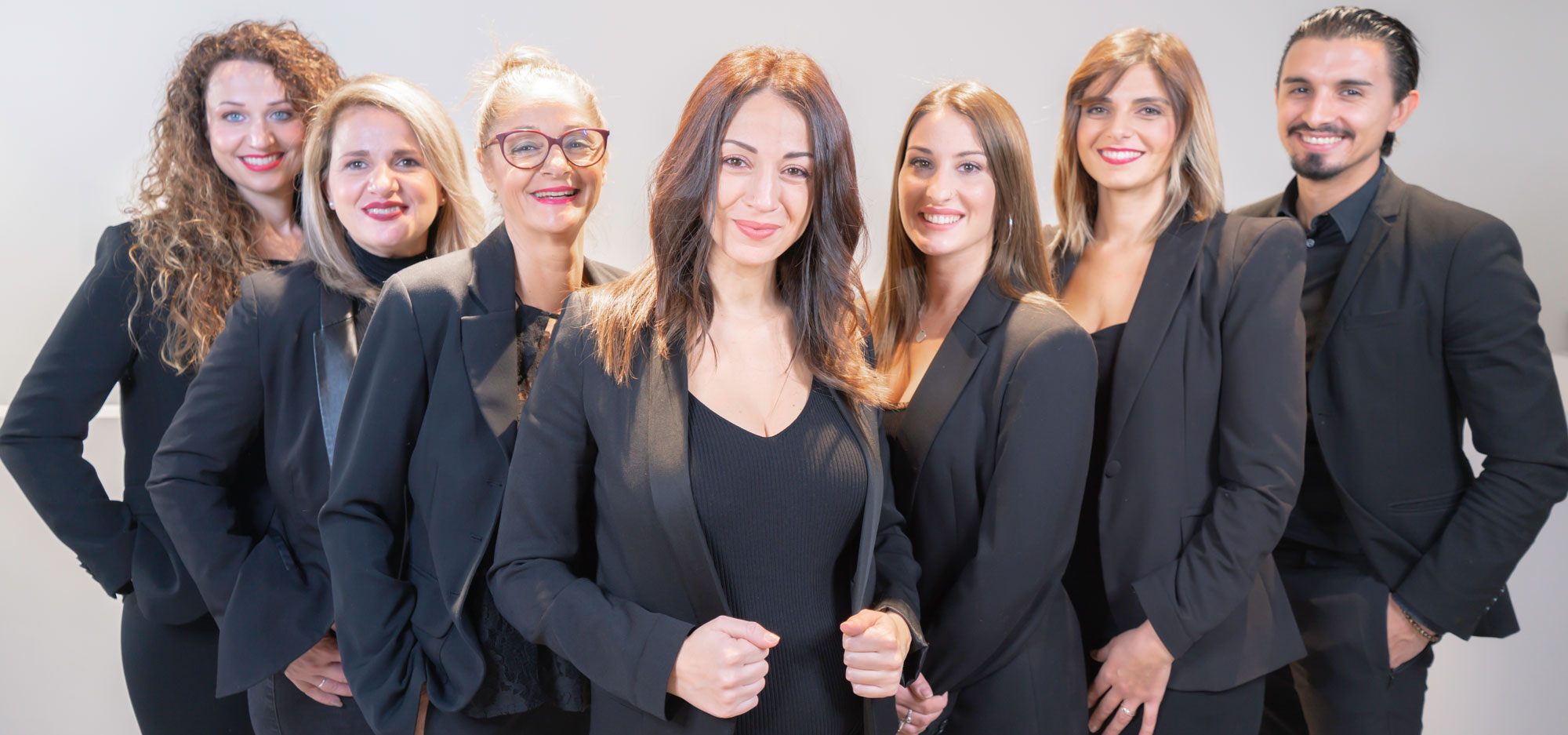 Gruppenbild Team Beautypoint im Dezember 2020